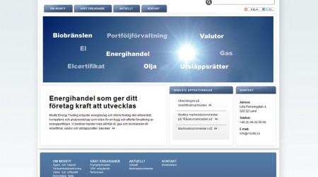 Modity Energy Trading
