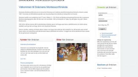Snäckans Montessoriförskola